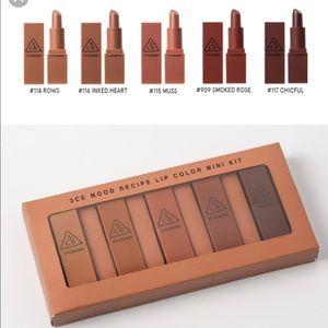 3CE korea lipstick